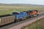 CEFX 1006 assist BNSF 5844 East